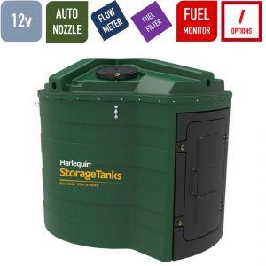 12v 5,000 litres Bunded Diesel Tank - Harlequin 5000FS Fuel Station