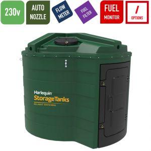 230v 5,000 litres Bunded Diesel Tank - Harlequin 5000FS-230 Fuel Station