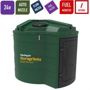 24v 5,000 litres Bunded Diesel Tank - Harlequin 5000FS Fuel Station