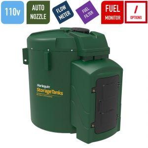 110v 7,500 litres Bunded Diesel Tank - Harlequin 7500FS-110 Fuel Station