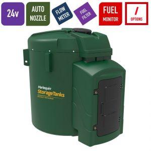 24v 7,500 litres Bunded Diesel Tank - Harlequin 7500FS-024 Fuel Station