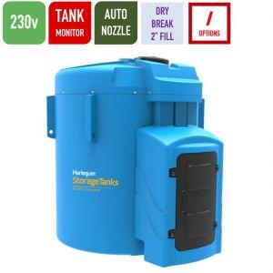 230v 9,250 litres Bunded AdBlue Tank - Harlequin 9250BS-230 Blue Station