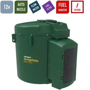 12v 9,250 litres Bunded Diesel Tank - Harlequin 9250FS-012 Fuel Station
