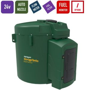 24v 9,250 litres Bunded Diesel Tank - Harlequin 9250FS-024 Fuel Station