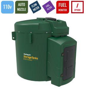 110v 9,250 litres Bunded Diesel Tank - Harlequin 9250FS-110 Fuel Station