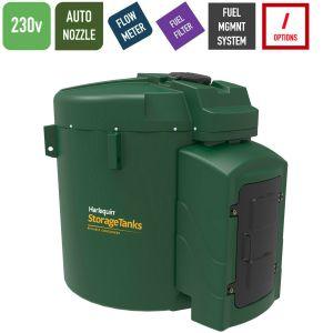 230v 9,250 litres Bunded Diesel Tank - Harlequin 9250FS-230 Fuel Station