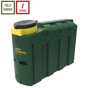 1,000 litres Bunded Waste Oil Tank - Harlequin ORB1000-SL Slimline