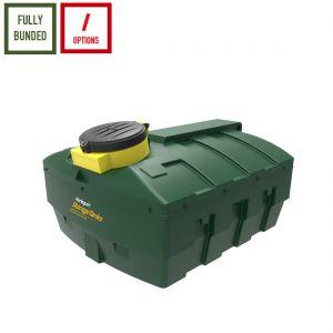 1,200 litres Bunded Waste Oil Tank - Harlequin ORB1200-LP Low Profile