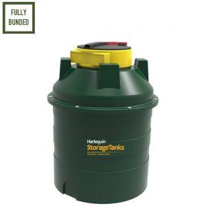 350 litres Bunded Waste Oil Tank - Harlequin ORB350 Vertical