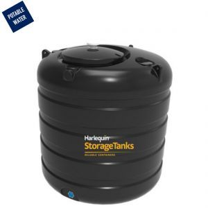 1,800 litres Potable Water Tank - Harlequin PW1800VT Vertical