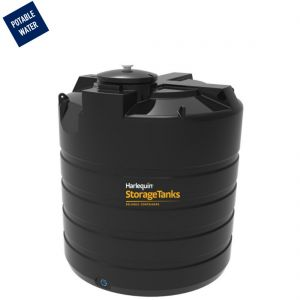 5,700 litres Potable Water Tank - Harlequin PW5700VT Vertical