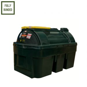 1,350 litres Bunded Waste Oil Tanks - Carbery 1350H-WOIL Horizontal