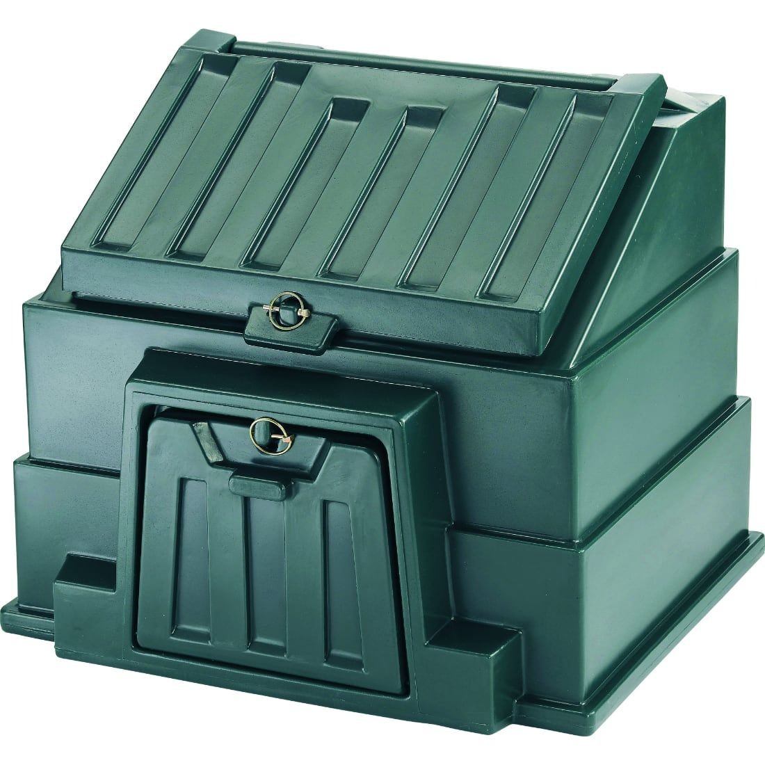 Photograph of Harlequin CB1 Plastic Coal Bunker - Green