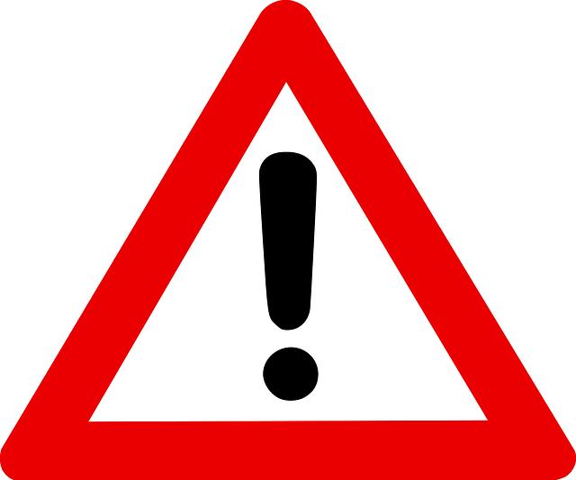 Warning Sign Graphic