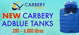 Carbery Adblue Tanks